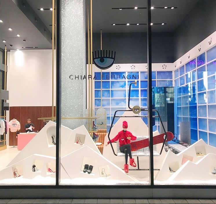 Chiara Ferragni - Store Milano - Alain Leporati - King Manichini