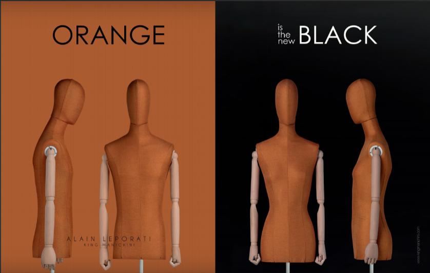 Orange is the new Black in… Fashio